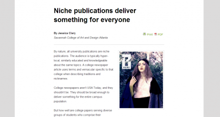 THANK YOU COLLEGE MEDIA REVIEW~!